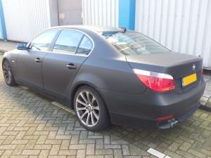 Carwrapping BMW: Mat Zwart